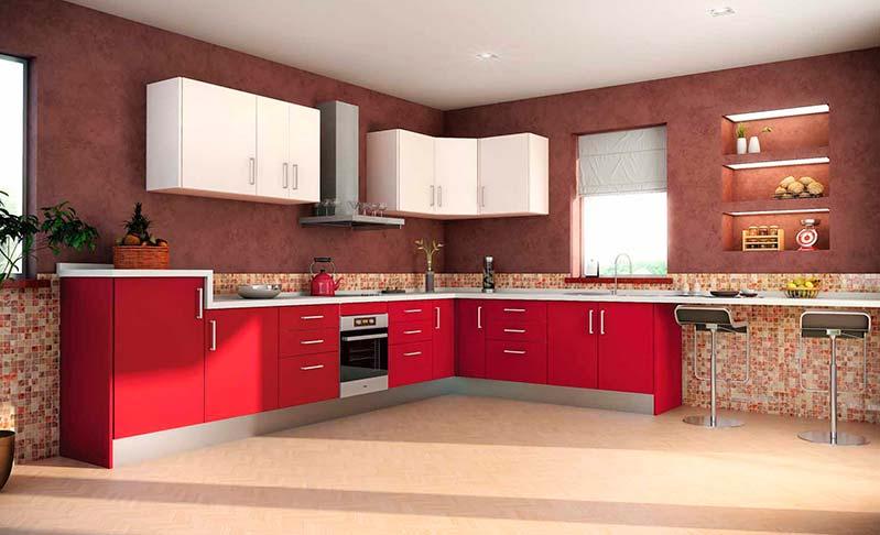 Cocinas de madera modernas mm for Modelos de cocinas para casas