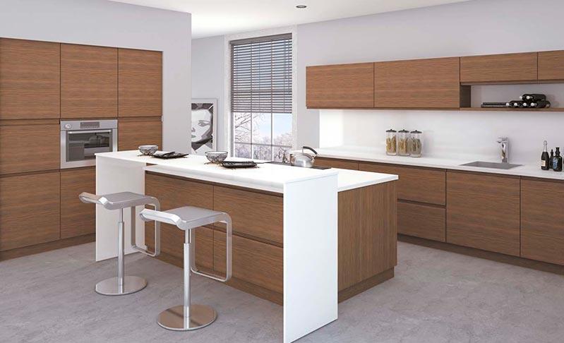 Cocinas de madera modernas mm - Modelos de cocina ...
