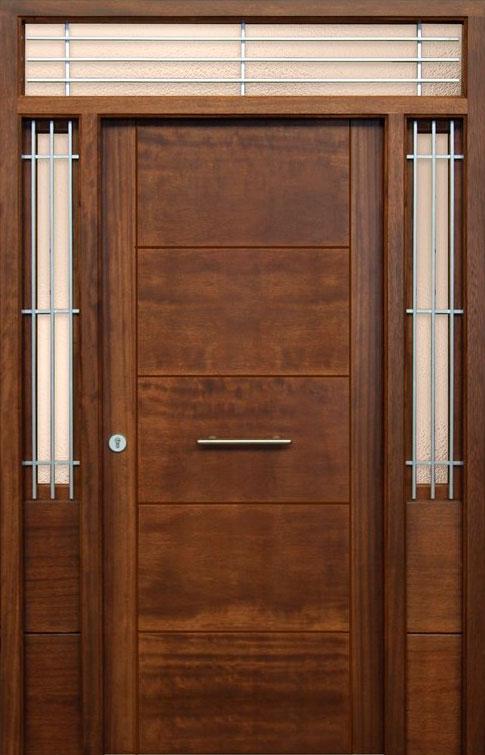 Puertas de madera exterior modernas dise os for Puerta de madera exterior usada
