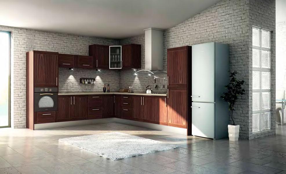 Modelos de barras para cocinas rusticas - Cocina rustica moderna ...
