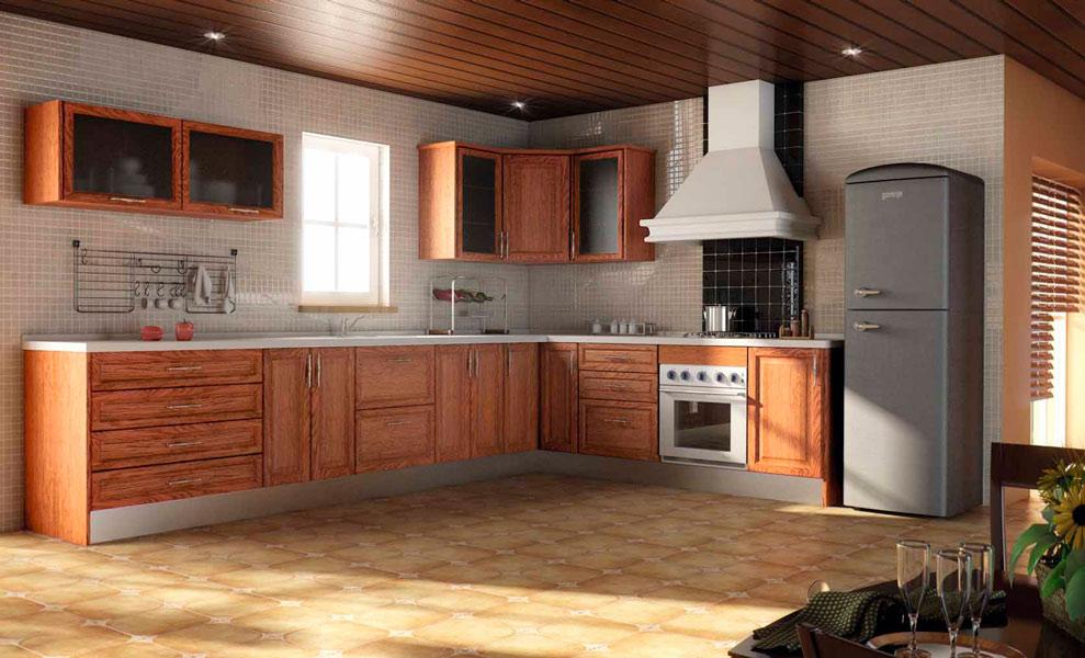 Pin cocinas rusticas clasicas modernas comprar badajoz - Modelos de cocinas rusticas ...