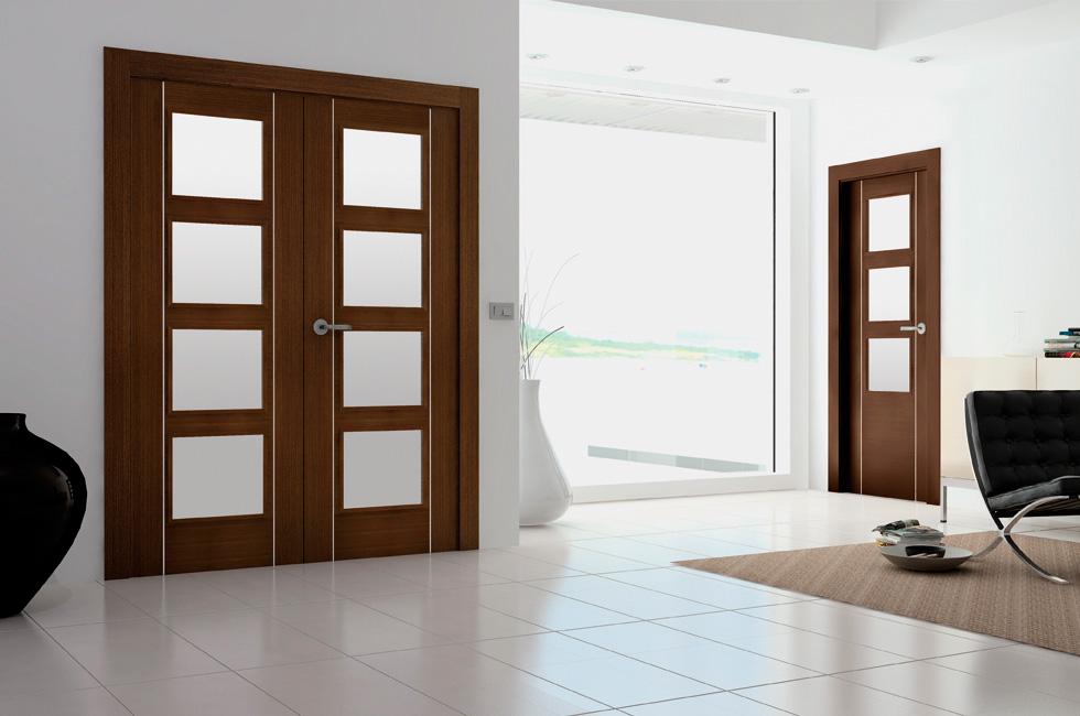 Puertas interior modernas mm for Modelo de puertas para habitaciones modernas