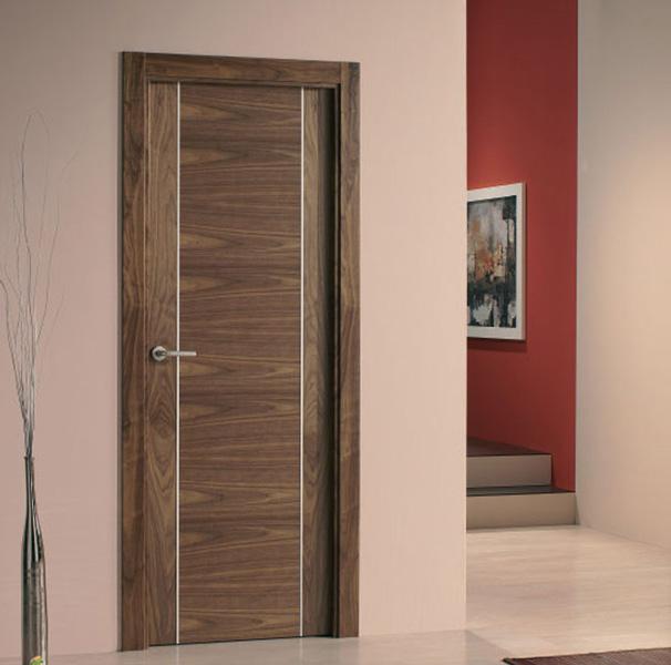 Puertas interior modernas mm for Puertas de madera interiores modernas