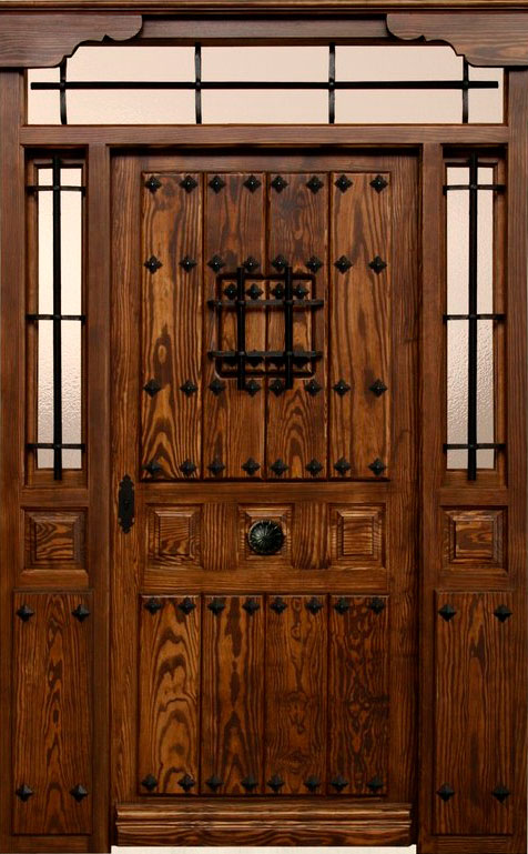 Puertas de exterior r sticas mm for Ver modelos de puertas